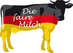 """Logo von """"Die faire Milch"""""""
