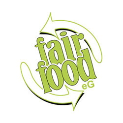 Logo von fair food eG
