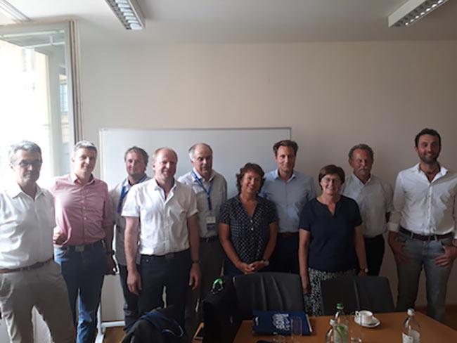 BDM-Team Bayern im Bayerischen Landtag