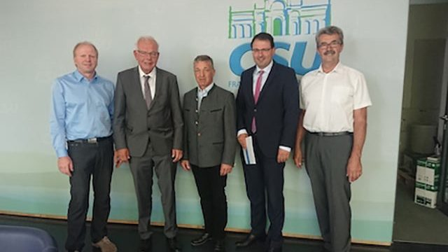 BDM-Team Bayern zu Gast beim CSU-Fraktionsvorsitzenden Thomas Kreuzer